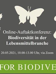Konferenz Biodiversität in der Lebensmittelbranche